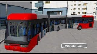 getlinkyoutube.com-OMSI 2 - QuadBus Biarticulado BETA Linha 351 Savoy [Download]
