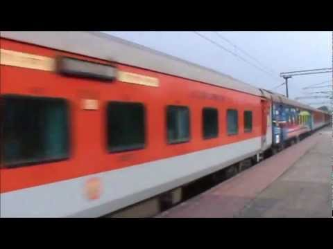 Railfanning in India! (featuring Rajdhani Express and India's first Double Decker train)