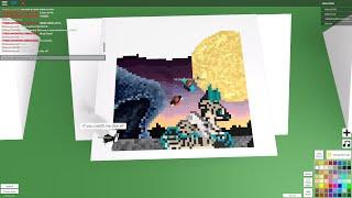 getlinkyoutube.com-Roblox: Pixel Art Creator