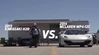 getlinkyoutube.com-kawasaki ninja h2r vs bugatti veyron drag race 2015