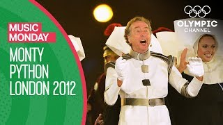 getlinkyoutube.com-Monty Python's Eric Idle - London 2012 Performance