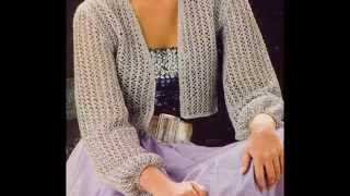 getlinkyoutube.com-Blusas, Sacos, Capas, Suéter, Chalecos tejidos a crochet
