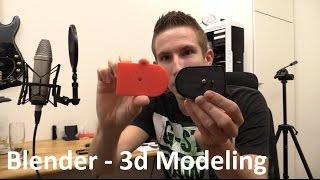 getlinkyoutube.com-Blender Tutorial (Beginner) - How To Make a 3D Model for 3D printing - EcTechTime
