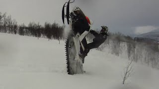 getlinkyoutube.com-TEAM FARMER LIPS 2014 Snowmobile Movie, SWEDEN BACKCOUNTRY RIDING
