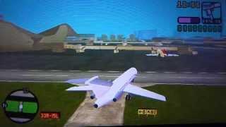 getlinkyoutube.com-GTA Vice City Stories (PSP) Mit großem Flugzeug fliegen (HD)