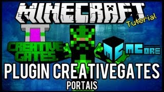 getlinkyoutube.com-[Tutorial]CreativeGates - Portais Minecraft