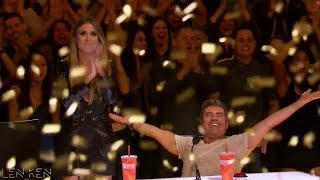 Jeffrey Li: Simon Cowell Promises A DOG To 12-Year-Old Child STAR! | America's Got Talent 2018 width=
