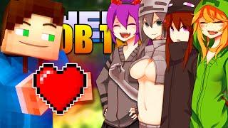 getlinkyoutube.com-Minecraft MOB TALKER 2 Mod Spotlight & Installation Tutorial! Cute Anime Girls Mod (Mob Talker 1.8)