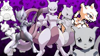 getlinkyoutube.com-The Many Faces of Mewtwo - Nintendo Facts