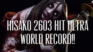 getlinkyoutube.com-Killer Instinct WORLD RECORD Hisako 2603 Hit Ultra Combo!!!