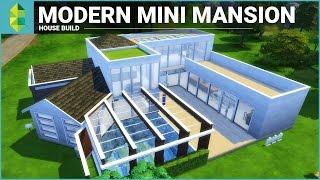 getlinkyoutube.com-The Sims 4 House Building - Modern Mini Mansion