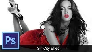 getlinkyoutube.com-Adobe Photoshop CS6 - [Sin City Effect] [Color Splash]