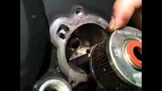 getlinkyoutube.com-Yamaha FZ16 cambio de aceite