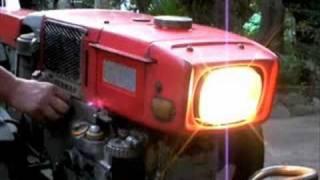 getlinkyoutube.com-Yanmar Diesel S85-CE   ヤンマー富士ディーゼル耕耘機KC7G(YC7G)
