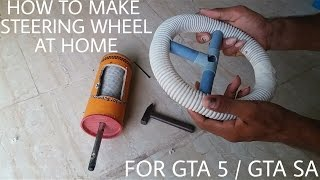 getlinkyoutube.com-How To Make Steering Wheel By Using Only Mouse | Driving Simulator For GTA 5 / GTA San Andreas