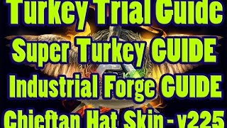 ARK: Survival Evolved - Turkey Trial Guide ► Super Turkey ► Industrial Forge►Chieftain Hat ►Wishbone