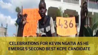 getlinkyoutube.com-Celebrations for Kevin Ngatias as he emerges second best KCPE candidate