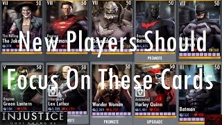 getlinkyoutube.com-Injustice Gods Among Us iOS - New Players should Focus on These Cards