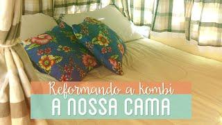 getlinkyoutube.com-BANCO QUE VIRA CAMA   Reforma da Kombi #4