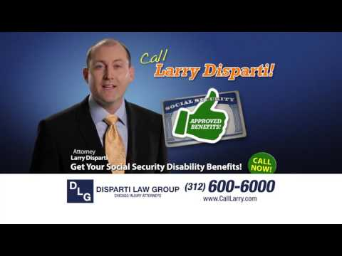 If You've Been Denied Disability, Call Larry Disparti!