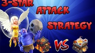 """getlinkyoutube.com-Town Hall 10 (Th10) BEST 3-star Attack Strategy """" Bowlers + Healers"""" 