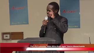 Prof .PLO Lumumba