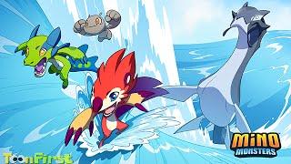 getlinkyoutube.com-Mino Monsters 2 - Evolution Gameplay