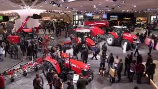 Welcome to Agritechnica 2015 Massey Ferguson 5713 SL - Day 1