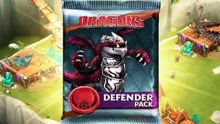 getlinkyoutube.com-Dragons: Rise of Berk - DEFENDER PACK