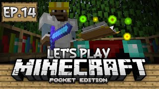 getlinkyoutube.com-Survival Let's Play Ep. 14 - Enchanting Gameplay 0.12.0!!! - Minecraft PE (Pocket Edition)