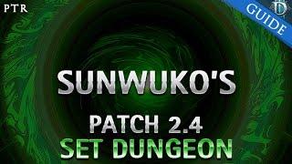 getlinkyoutube.com-Diablo 3 - Sunwuko's Set Dungeon Guide Patch 2.4