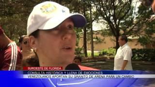 Programa sobre la consulta popular histórica de Venezolanos en Bonita Springs (Bloque A)