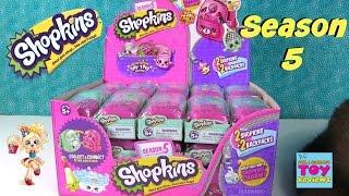 getlinkyoutube.com-Shopkins SEASON 5 2 Pack Blind Backpacks Bag Opening | PSToyReviews