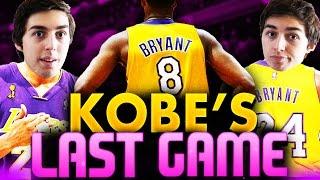 getlinkyoutube.com-Can I Recreate Kobe Bryant's Last Game and Game Winning Shot on NBA 2K16?