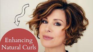 getlinkyoutube.com-Enhancing Short Naturally Curly Hair