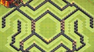 Clash of Clans - Th10 farming Base - Effective Traps