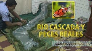 getlinkyoutube.com-PESEBRE CON PECES, RÍO Y CASCADA REALES (PART 1) @todoinventostv