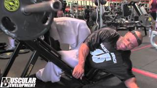 getlinkyoutube.com-DEXTER JACKSON   Leg Training 4 weeks out of the Olympia 2013