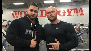 getlinkyoutube.com-IFBB PRO Ben Pakulski & Regan Grimes TRAIN LEGS LIVE