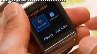 How to Install APK Files to Galaxy Gear!