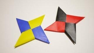 getlinkyoutube.com-手裏剣の折り方 - How to make an origami Shuriken(Ninja Star)[折り紙 おりがみ ORIGAMI]