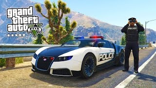 getlinkyoutube.com-GTA 5 PC Mods - PLAY AS A COP MOD #6! GTA 5 Police BUGATTI LSPDFR Mod Gameplay! (GTA 5 Mod Gameplay)