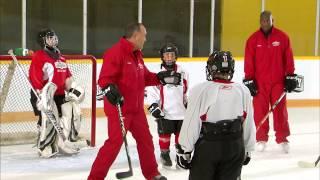getlinkyoutube.com-NHL Skills: Coaching Powerplay From Canadian Tire Hockey School