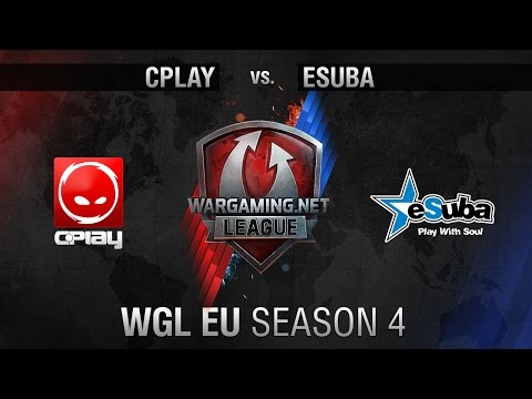 CPlay vs. eSuba - Matchday 9 - WGL EU Season 4 - World of Tanks