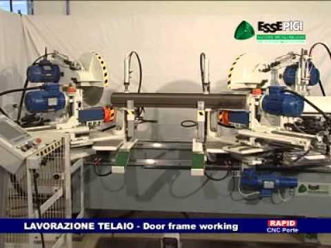 Produzione macchine legno