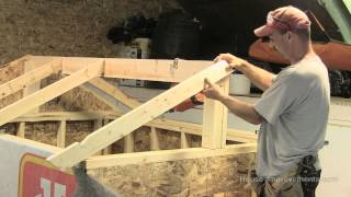 getlinkyoutube.com-How To Build A Shed - Part 3 Building & Installing Rafters