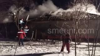 I-a luat foc casa de la un prosop uitat pe soba. N-a reușit sa salveze nimic (UDATI SMEENI)