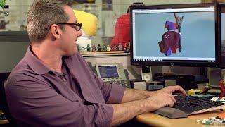 getlinkyoutube.com-Building Jestro - LEGO NEXO KNIGHTS - Designer Video