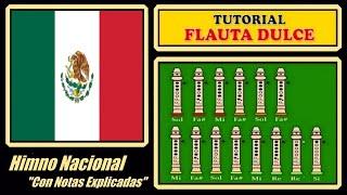 "getlinkyoutube.com-Himno Nacional Mexicano en Flauta ""Con Notas Explicadas"""