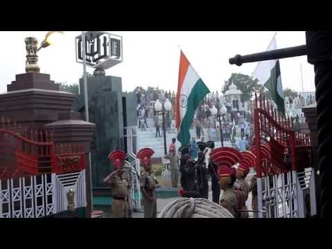 Wagah Border Ceremony filmed from the VIP seats  -- Indian / Pakistan Border